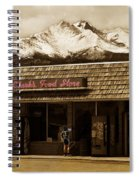 Clarks Old General Store Spiral Notebook