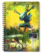 Clarksdale Authentic Madness Spiral Notebook