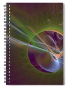 Clash Of Energy Spiral Notebook