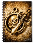 Clash Of The Dead Spiral Notebook