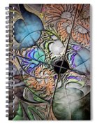 Clash Of The Earthly Elements Spiral Notebook