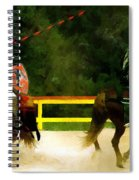Clash Of The Titans Spiral Notebook