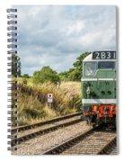 Class 31 Diesel 4 Spiral Notebook