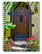 Classic Belmont Shore Spiral Notebook