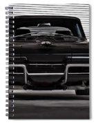 Classic Black Spiral Notebook