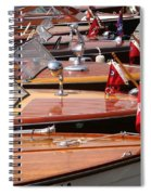 Classic Boats Spiral Notebook