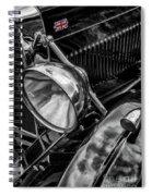 Classic Britsh Mg Spiral Notebook