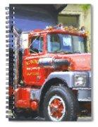 Classic Brockway Dump Truck Spiral Notebook