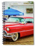 Classic Cadillac Spiral Notebook