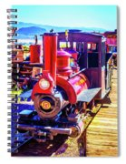 Classic Calico Train Spiral Notebook