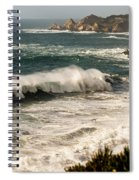 Classic California Surf Spiral Notebook