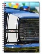 Classic Camaro Spiral Notebook