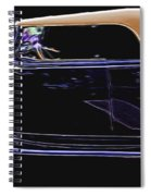Classic Car 4 Spiral Notebook