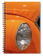 Classic Car Details Spiral Notebook