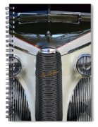 Classic Car Front End Spiral Notebook