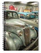 Classic Car Memorabilia Spiral Notebook