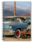 Classic Chevy True Blue Spiral Notebook