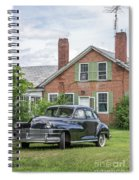 Classic Chrysler 1940s Sedan Spiral Notebook