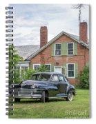 Classic Chrysler 1940s Sedan Spiral Notebook