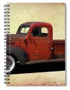 Classic Dodge Pickup Truck Spiral Notebook