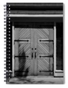 Classic Doors Spiral Notebook