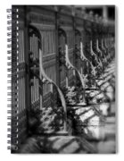 Classic Fence Spiral Notebook