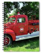 Classic Fire Truck Spiral Notebook