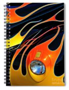 Classic Flames Spiral Notebook