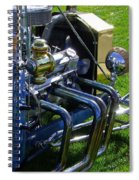 Classic Ford Hotrod Spiral Notebook