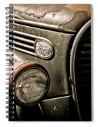Classic Ford Truck Spiral Notebook