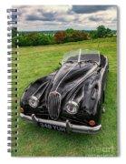 Classic Jag Spiral Notebook