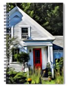 Classic Maine New Englander Spiral Notebook