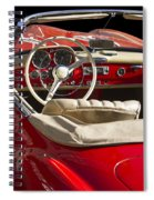 Classic Mercedes Benz 190 Sl 1960 Spiral Notebook
