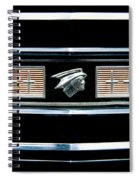 Classic Mercury Grill Emblem Spiral Notebook