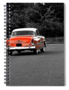 Classic Old Ford Mercury Spiral Notebook