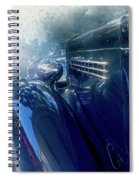 Classic Painted Spiral Notebook