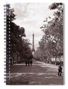 Classic Paris 10 Spiral Notebook