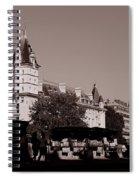 Classic Paris 12c Spiral Notebook