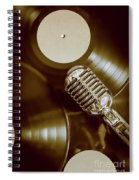 Classic Rock N Roll Spiral Notebook