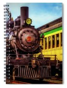 Classic Steam Train No 29 Spiral Notebook