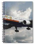 Classic Twa Boeing 757-231 Spiral Notebook