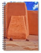 Classic View Of Ranchos Church As Oil Spiral Notebook