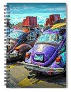 Classic Volkswagen Beetle - Old Vw Bug Spiral Notebook