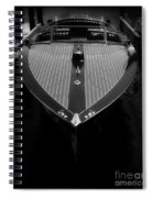 Classic Wooden Boat 2 Spiral Notebook