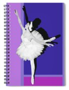 Classical Ballet Spiral Notebook