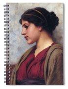 Classical Beauty John William Godward Spiral Notebook