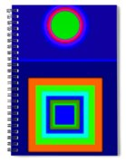 Classical Blue Spiral Notebook