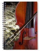 Classical Cello Spiral Notebook