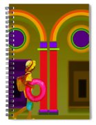 Classical Fall Spiral Notebook