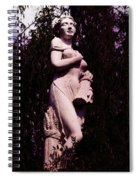 Classical Farm Girl Spiral Notebook